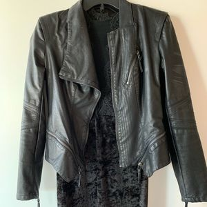 Gorgeous leather Blank NYC jacket from Nordstrom!